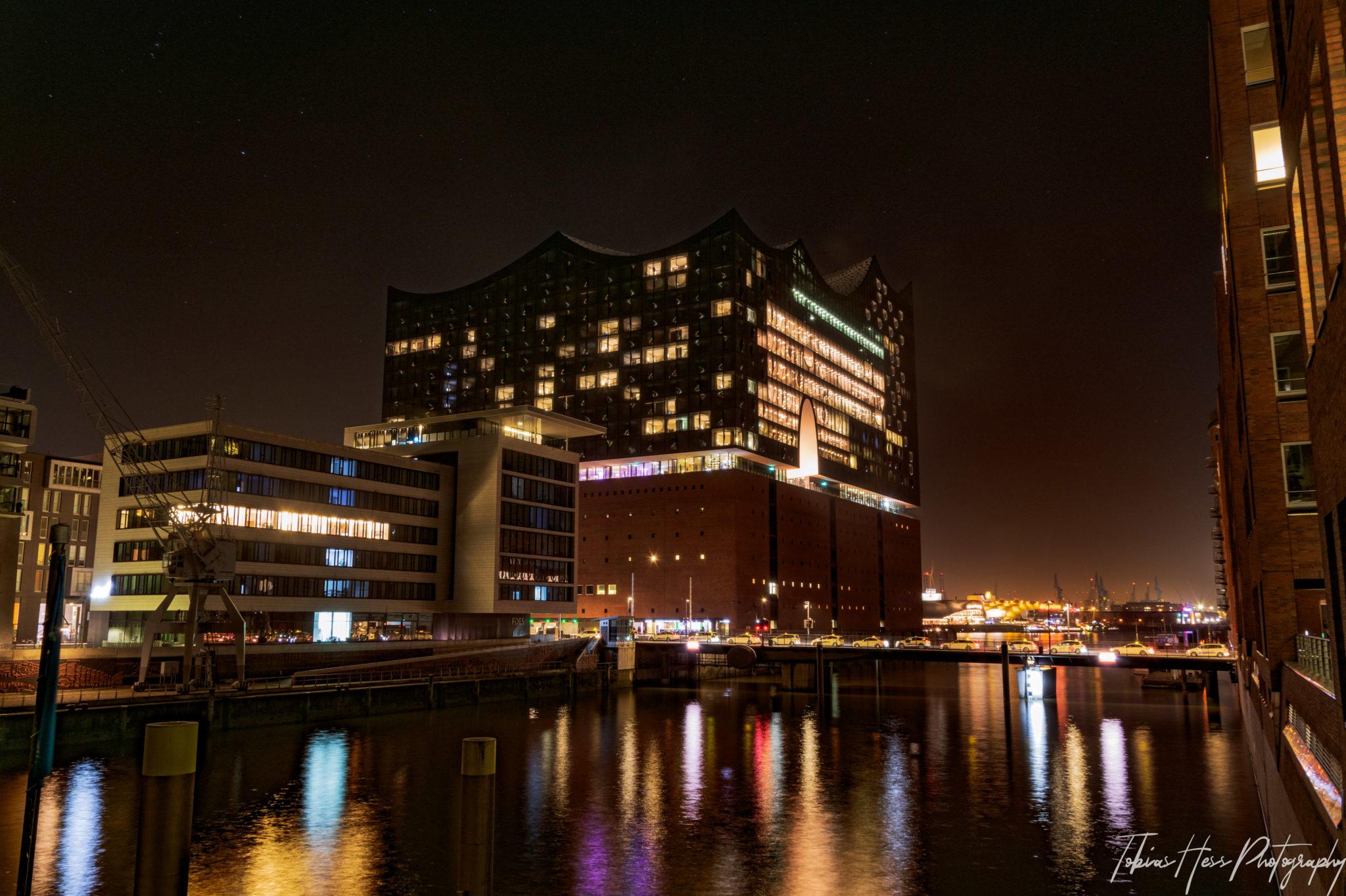 Elbphilharmonie Hamburg Nachtfotografie