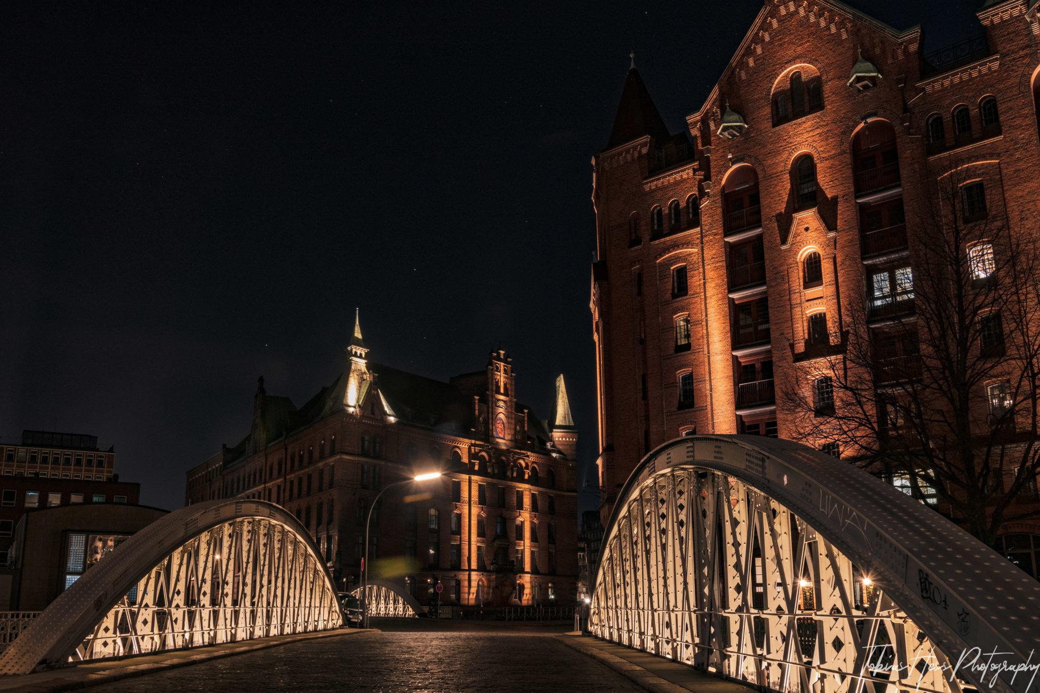 Speicherstadt Hamburg Nachtfotografie