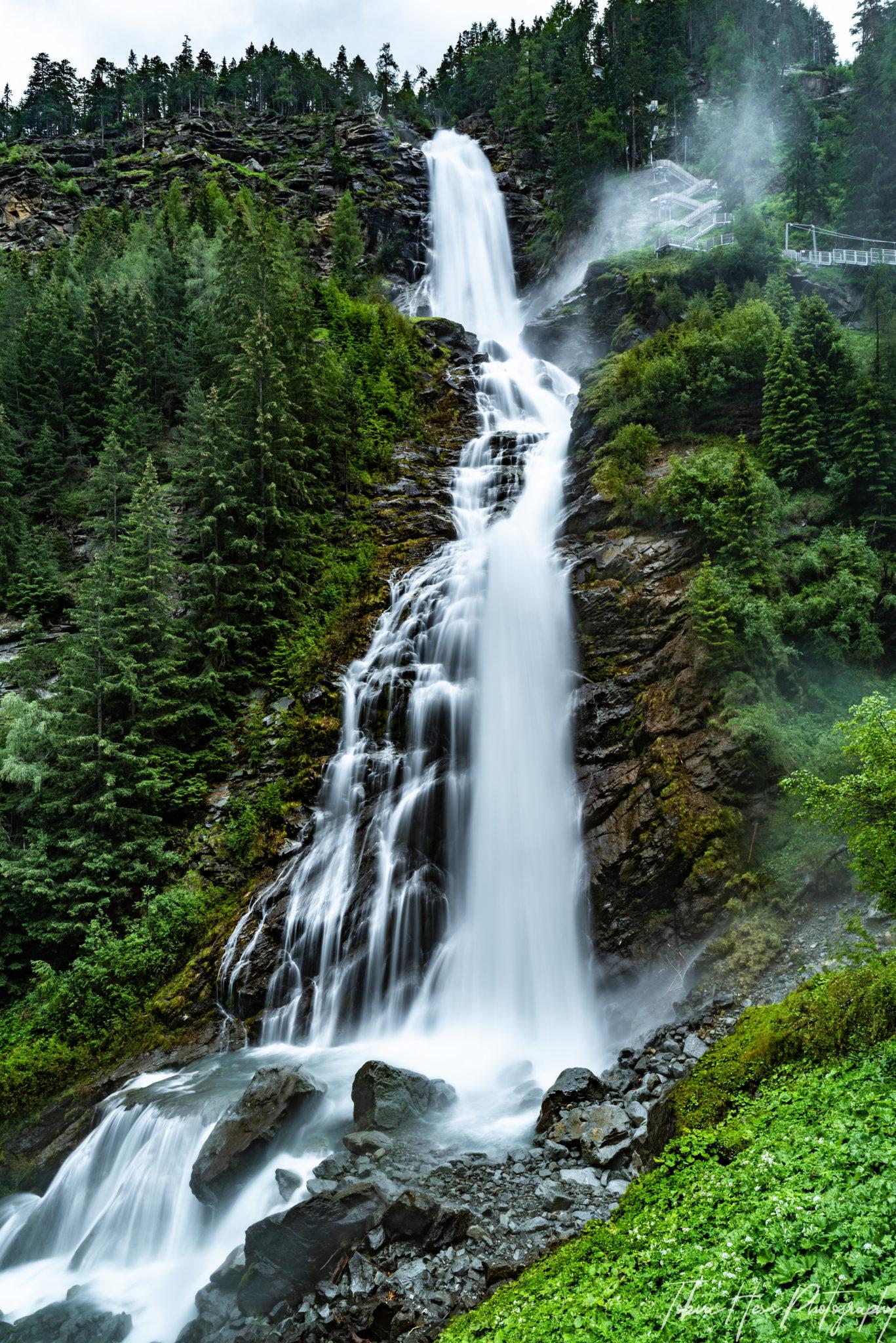 Stuibenfall Ötztal Wasserfall